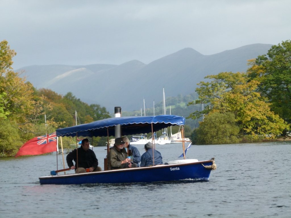 Senta on Windermere, September 2012 (photo Richard Bartrop)