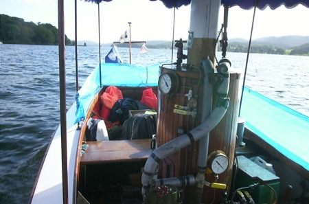 Senta on Windermere, August 2002 (photo Roger Calvert)
